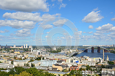 Right riverbank of Kiev