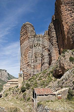 Riglos,韦斯卡省,西班牙