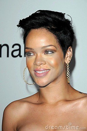 Rihanna Redaktionelles Stockbild