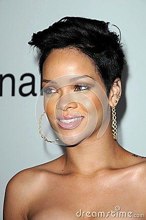 Rihanna Εκδοτική Στοκ Εικόνα