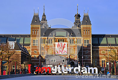 Rijksmuseum, Amsterdam Editorial Stock Photo