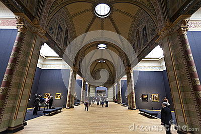 Rijksmuseum Amsterdam - Main exhibition hall Editorial Image