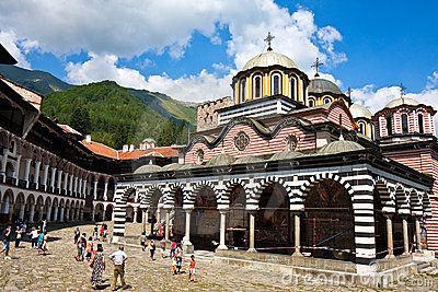 Rila Monastery Editorial Stock Image