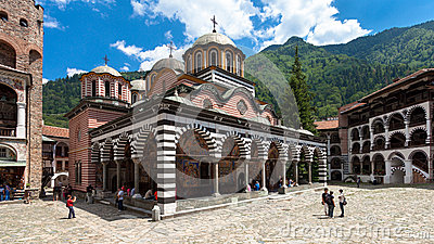 Rila Monastery Church Editorial Image
