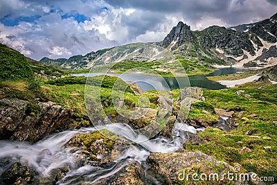 Rila mountain Stock Photo