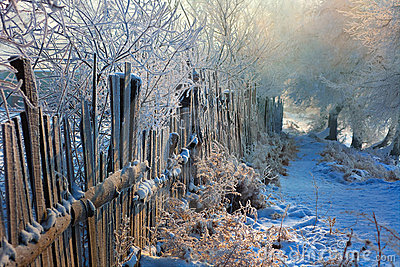 Rime fence