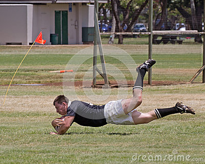 RIMPAC Rugby Tournament Editorial Stock Photo