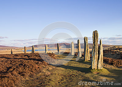 Brodgar in late afternoon