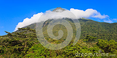 Ring of Clouds over Arenal