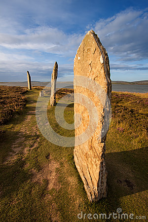 Free Ring Of Brodgar, Orkney, Scotland Royalty Free Stock Photos - 47279548