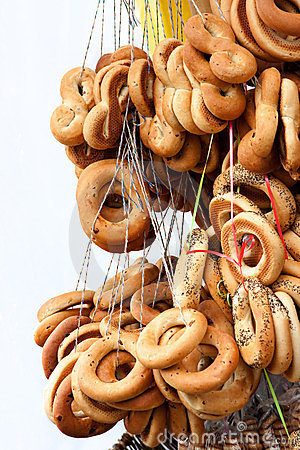 Ring-shaped bread