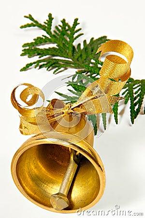 Free Ringing Handbell Royalty Free Stock Photo - 381975