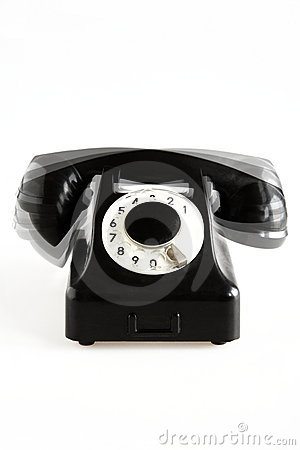 Ringing old-fashioned phone