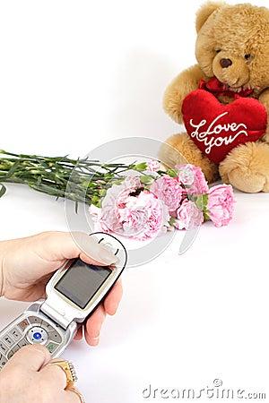 Free Ringing To Say Thankyou Royalty Free Stock Images - 500839