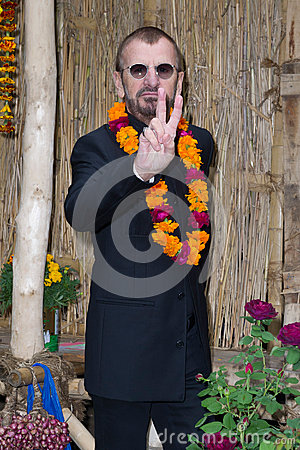 Ringo Starr Editorial Photo