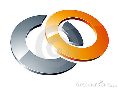 Rings abstract design