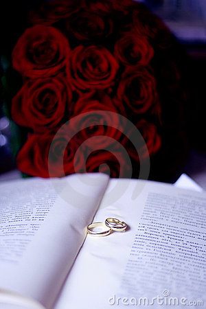 Two Rings on the book