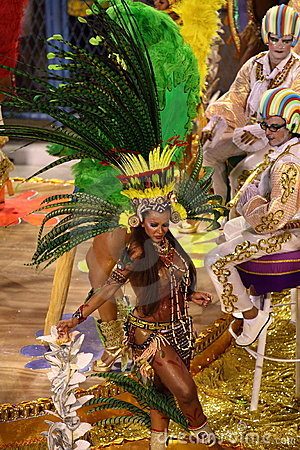 Free Rio Carnival Royalty Free Stock Photo - 11351335