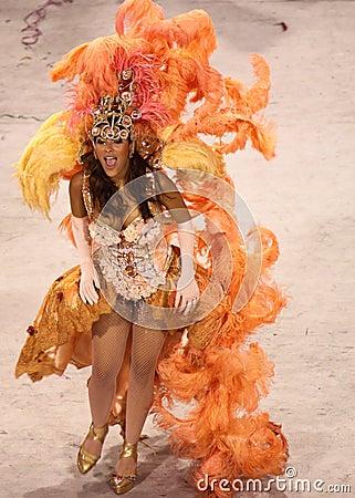 Rio Carnival Editorial Photo