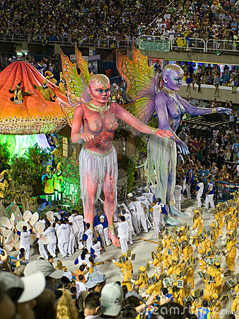 Rio Carnival. Editorial Stock Image