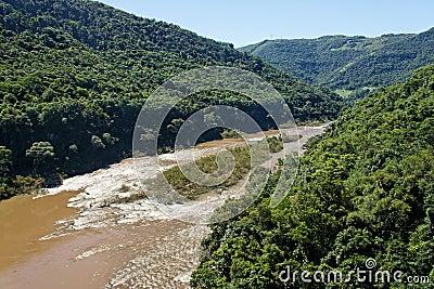 Rio das Antas River Rio Grande do Sul