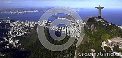 Rio de Janeiro - Christ le rédempteur - le Brésil