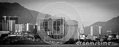 Rio de Janeiro city skyline