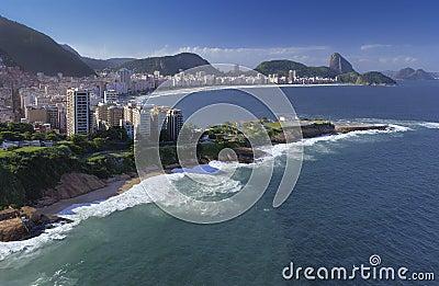 Rio De Janeiro - Copacabana Beach - Brazil