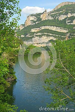 Rio Ebro Embalse de Sobron