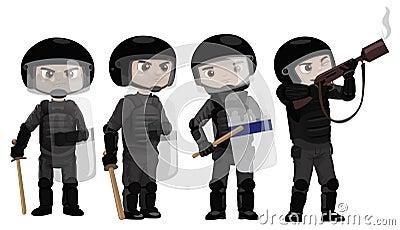 Riots Police