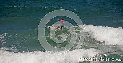 Rip Curl Gromsearch - Ocean Spirit, Keshia Eyre Editorial Photo