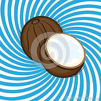 Ripe coconut