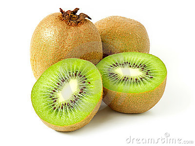 Ripe kiwi fruit