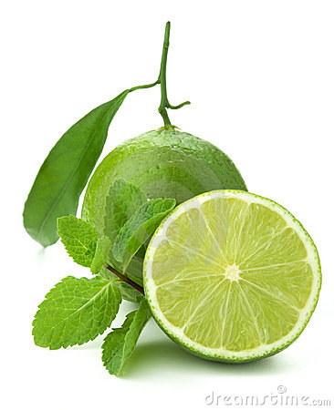 Free Ripe Lime And Mint Royalty Free Stock Images - 17445909