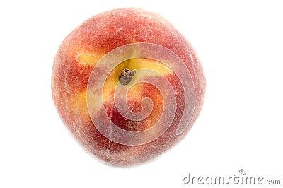 Ripe peach macro