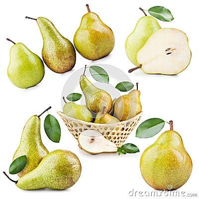 Free Ripe Pear Stock Image - 24196831