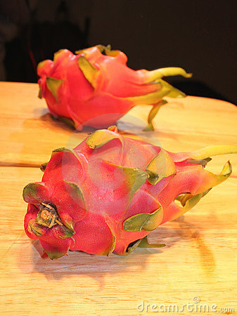 Ripe pitaya fruit