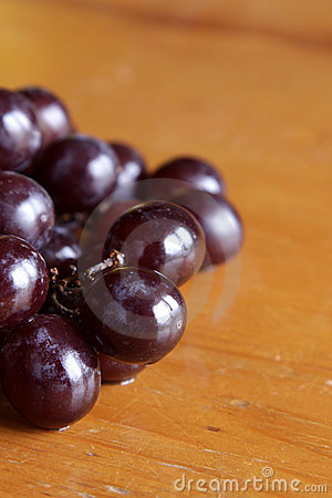 Ripe Red Grapes