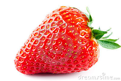 Ripe strawberry