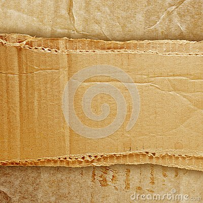 Riped grunge cardboard background