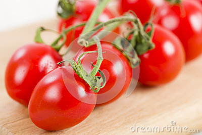 Ripened Tomatoes on the Vine