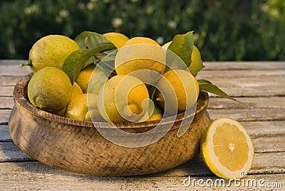 Ripening Lemons