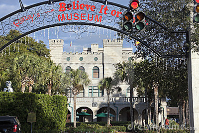 Ripley s Believe It or Not! Museum in St. Augustine, Florida Editorial Image