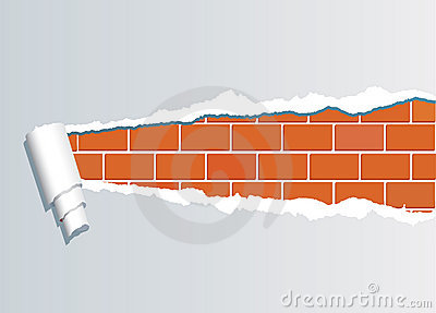 Ripped brickwall1