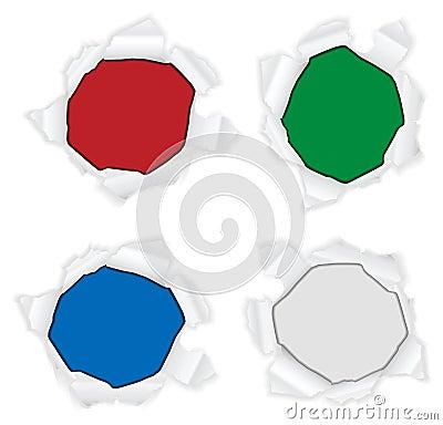 Ripped circle
