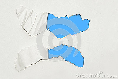 Ripped textured paper background