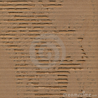 Ripped torn cardboard texture background