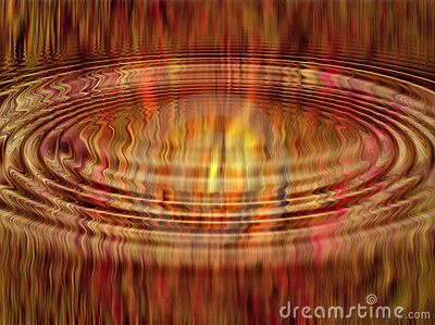 Ripple abstract flames