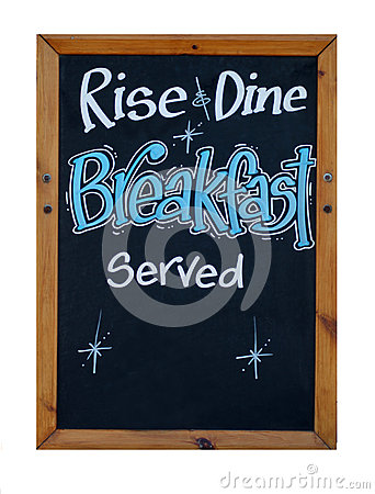 Rise and dine breakfast served