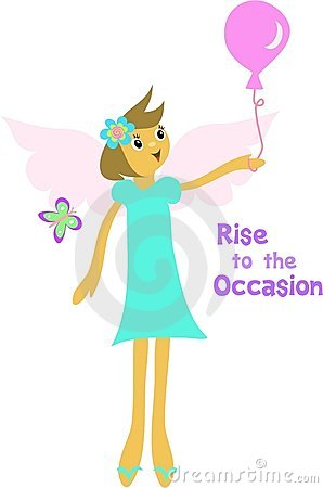 Rise to the Occasion Angel